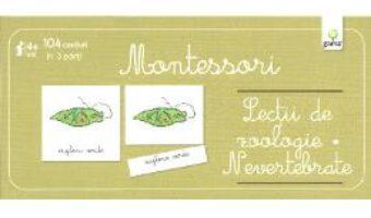 Lectii de zoologie. Nevertebrate – Montessori PDF (download, pret, reducere)