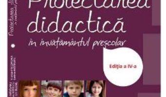 Proiectarea didactica in invatamantul prescolar – Maria Matasaru PDF (download, pret, reducere)