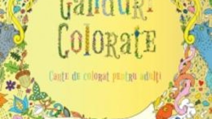 Ganduri colorate PDF (download, pret, reducere)