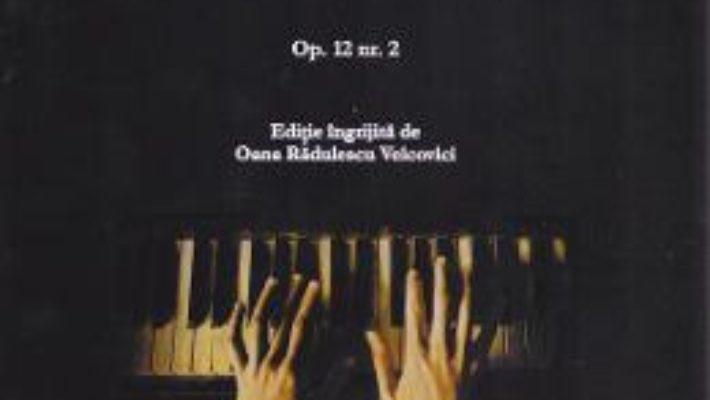Cartea 4 Piese pentru pian – Dumitru Bughici (download, pret, reducere)