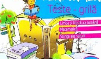 Pret Carte Performer. Teste-grila – Clasa 4 – Romana, Mate, Stiinte – Marinela Chiriac